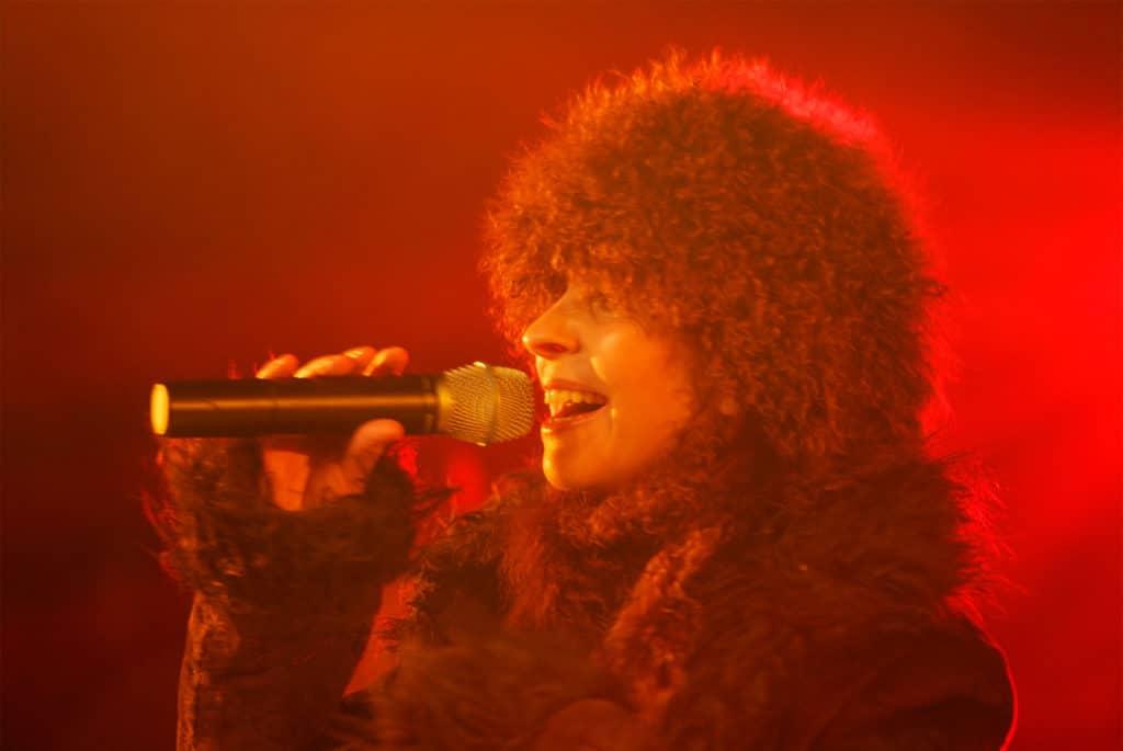 Sandrine Dumont concert de Frenchy du 31.12.2007