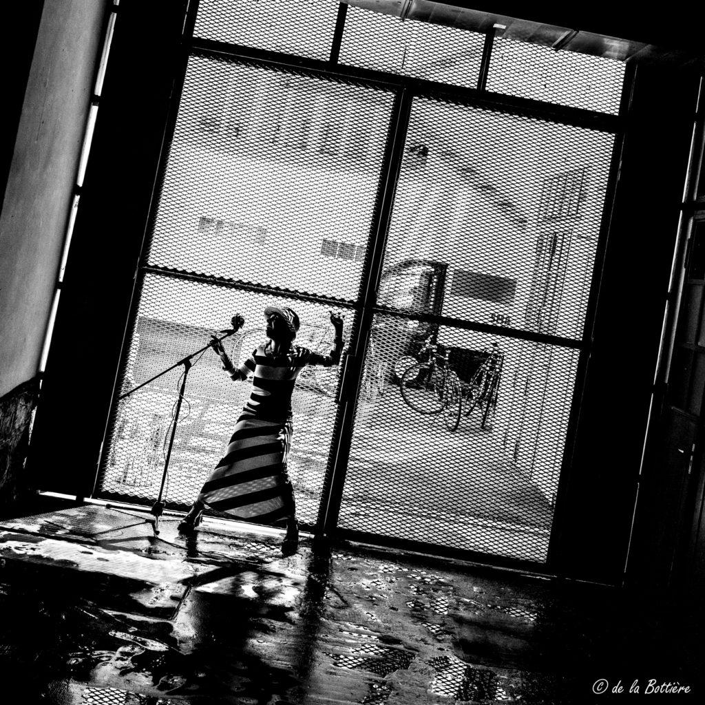 Sandrine Dumont by Chris de la Bottière